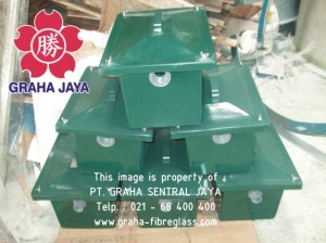Grease & Oil Trap 47x37x37 cm untuk kitchen sink rumah